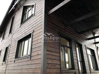 Каркасный дом по проекту КД 057 в комплектации «С отделкой», в д. Низино