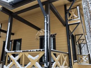 Каркасный дом по проекту КД 066 в комплектации «С отделкой + Инженерный пакет», в КП «Кавголовское Озеро, Всеволожского района