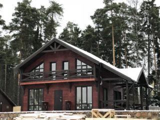Каркасный дом по проекту КД 066 в комплектации «С отделкой + Инженерный пакет», в массиве Кондратьевский, Селезневского СП